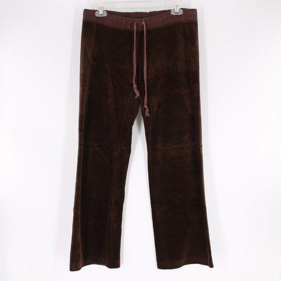 Juicy Couture Velvet Pants Brown S